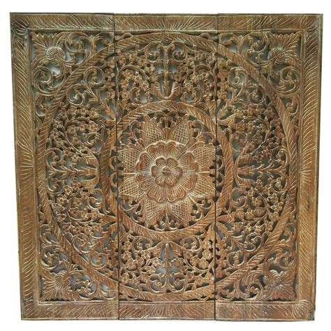 images  carved wood wall decor  asiana home