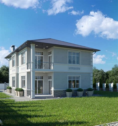 home design get d architectural exterior rendering 3d exterior rendering of countryside cottage lunas