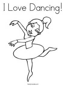 dancer coloring pages i coloring page twisty noodle