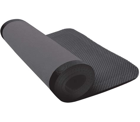 8mm Mat by Nike Ultimate Pilates Exercise Mat 8mm Grey Black