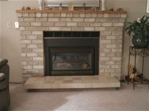 how to refinish a brick fireplace refinish the brick fireplace home bricks