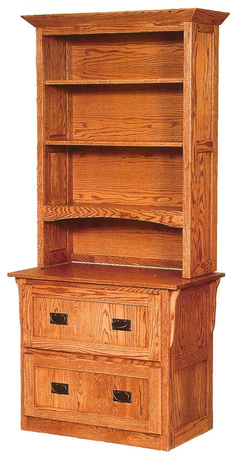 lateral file cabinet with hutch 1593