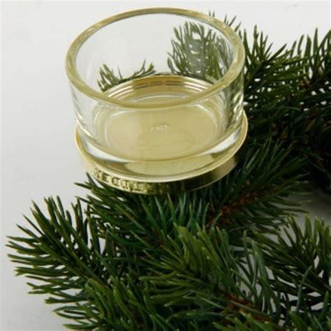 kerzenhalter glas adventskranz teelichthalter gold mit glas f 252 r adventskr 228 nze
