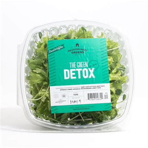 Farm Detox by Organic Lettuce Mix