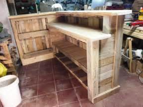 how to make wooden l easy diy pallet bar
