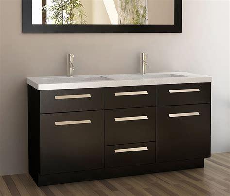 Dual Sink Bathroom Vanities by Bathroom Immaculate 60 Inch Sink Vanity For