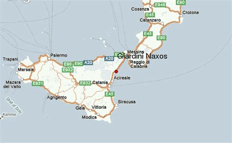 mappa giardini naxos giardini naxos stadsgids