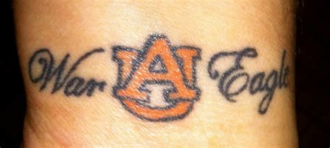 auburn tattoo photos all sec tattoos saturday south