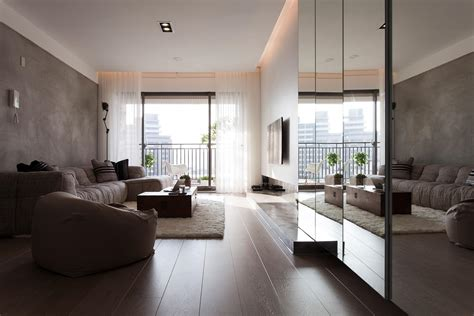 contemporary apartment design comfortable contemporary decor