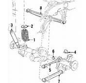 Expedition Rear Suspension Components Parts Layout Car Diagram