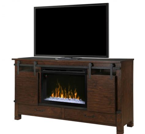 dimplex gds33gd 1670hb electric fireplace 64 quot media console with 30 quot multi glass ember
