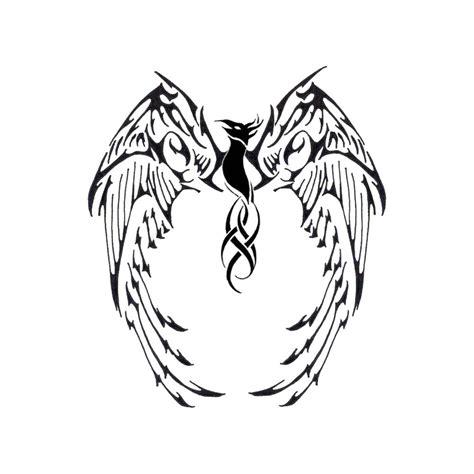 tribal phoenix tattoo images phenix tribal tatoo by naruto5289 on deviantart