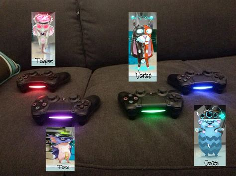 Ps4 Controller Light Colors by Tiny Brains Helps Players By Using The Dualshock 4 S Light