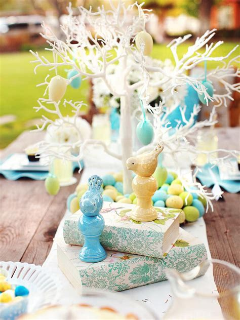 easter table centerpieces ideas 15 easter table decorations and settings hgtv