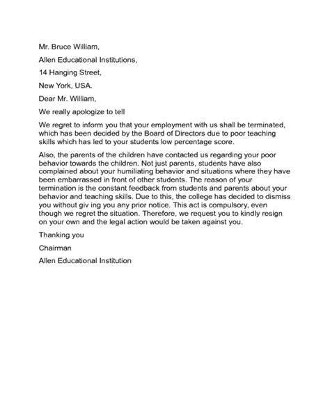 cancellation letter due to late delivery sle service termination letter lawyer approved advice