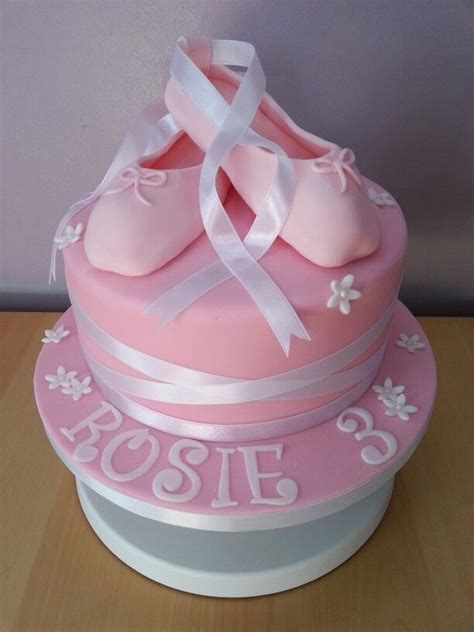 Balet Shoes Birthday Cakes 9 best images about millie s birthday cake on