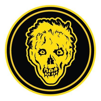 Auto Sticker Zombie by Zombie Sticker 5 Stickythings Nl