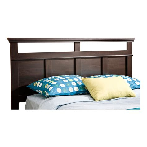 south shore headboards south shore versa collection full queen headboard ebony