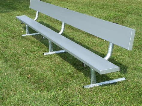 benches with steel legs national recreation systems