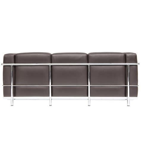 Lc 23 Threeseater Sofa Steelform The Best Classic Modern Furniture Reproductions