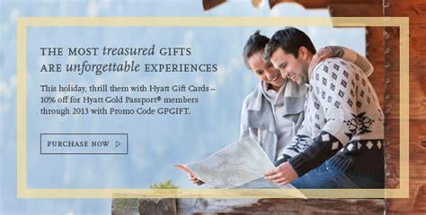 Hyatt Gift Card - how to save 10 off hyatt stays points miles martinis
