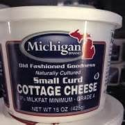 michigan cottage cheese michigan brand small curd cottage cheese calories