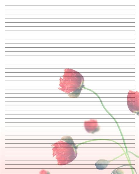 pretty writing paper printable free pretty stationary printable images labels
