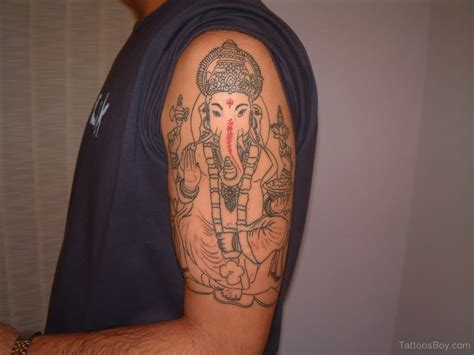 unique shoulder tattoos hinduism tattoos designs pictures page 11
