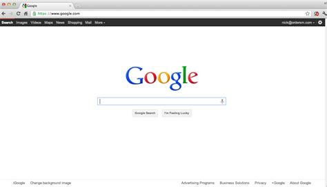 here s google s homepage 1999 vs 2012 can you tell the