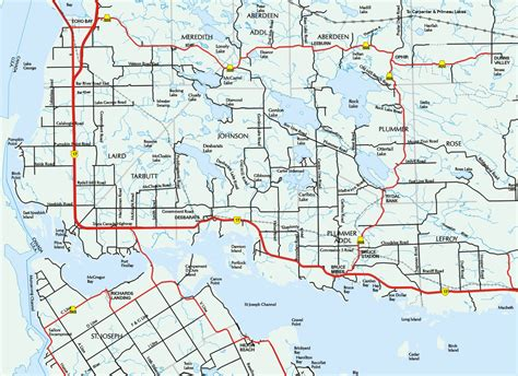 local map local map