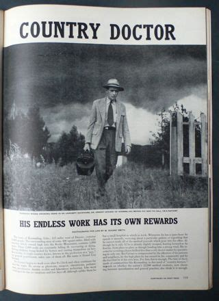 The Country Doctor w eugene smith country doctor magazine kremmling