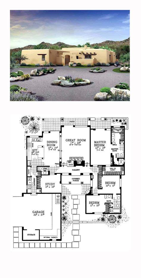 adobe style home plans 1000 ideas about adobe house on pinterest adobe homes