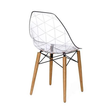 stuhl design mit zweifarbigen k 246 rper holzsockel idfdesign