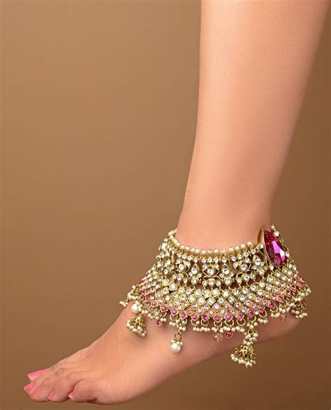design ideas for 6 foot 3 foot and indian anklet jewelry i india