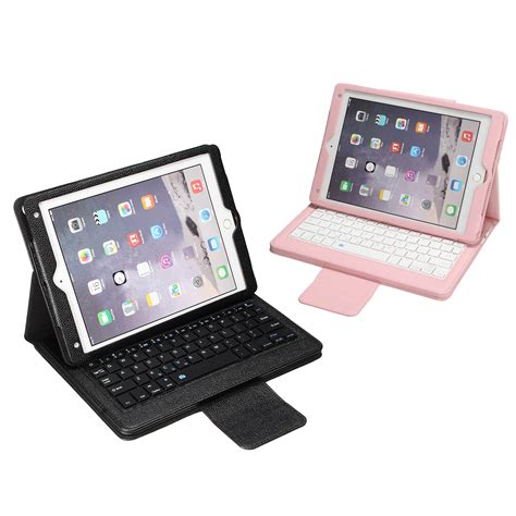 Keyboard Pro 10 5 removable bluetooth keyboard flip leather cover for pro 10 5 inch alex nld