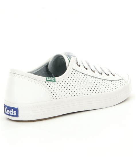 Panjang Insole Keds Shoes 1 lyst keds kickstart perf leather sneakers in white