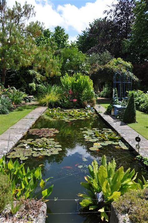 formal garden ponds the 25 best ideas about pond waterfall on diy