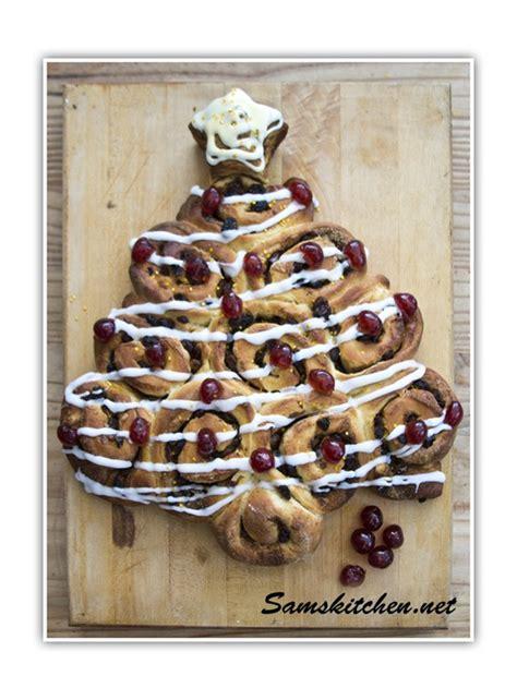 christmas tree buns sams kitchen