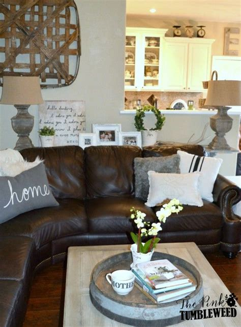 decorating behind couch 25 best ideas about leather couch decorating on pinterest