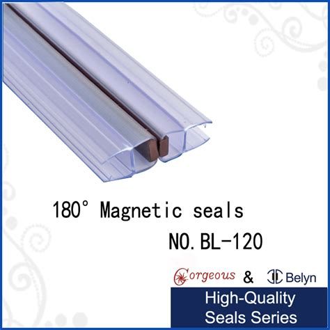 magnetic strips for shower doors bl120 silicone magnetic shower door seal buy