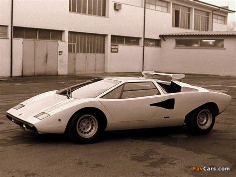 Lamborghini Countach 1974 Lamborghini Countach Lp400 1974 78 Photos 640x480