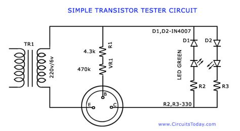 transistor darlington test transistor tester to test hfe and working of npn and pnp transistors
