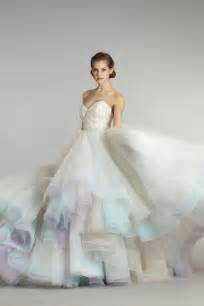 dressybridal 6 unique colored wedding gowns