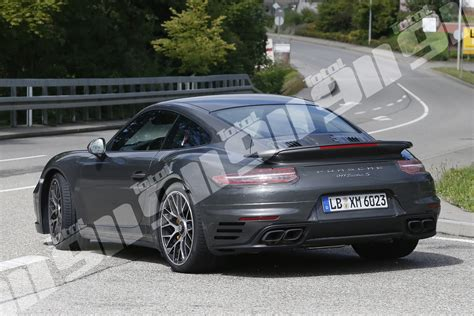 new porsche 911 turbo exclusive new porsche 911 turbo s spy shots put 992