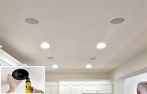 installing in wall ceiling speakers part 2 sound vision