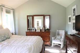 comfort gray bedroom room makeover with sherwin williams comfort gray