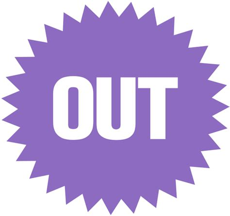 Out On The by File Out Icon Purple Svg Wikimedia Commons