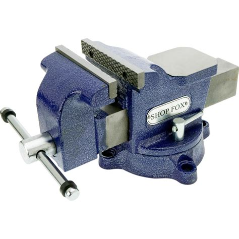 shop fox bench vise cls vises shop fox 5 inch bench vise with swivel