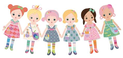 How To Make String Of Paper Dolls - 40 best images about paper dolls on bakeries