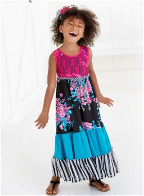 mm tween girls 2015 mm floral and lace tiered maxie dress now in stock